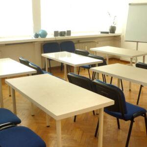 зала под наем за обучения
