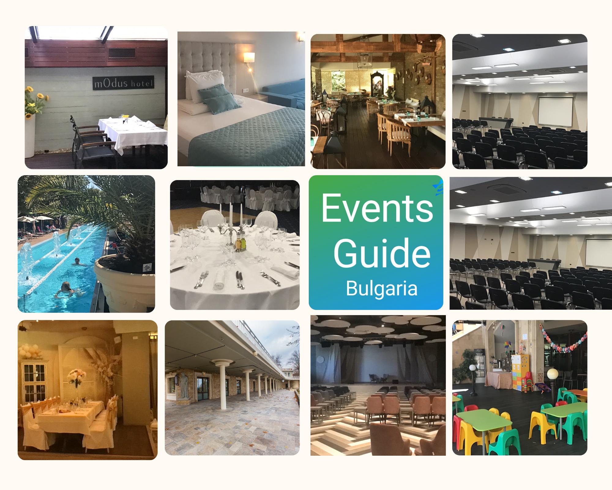 Events Guide Bulgaria